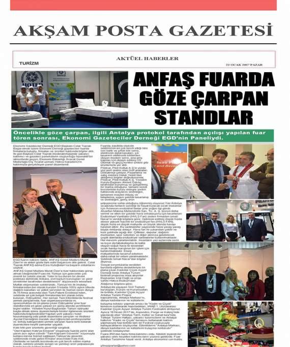 Akşam Posta Gazetesi