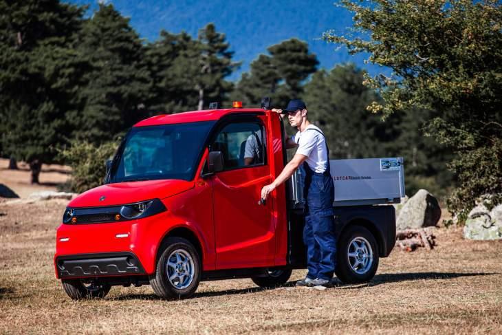 Arbeiterfreundlicher elektrischer Kleinlastwagen der neuen Generation