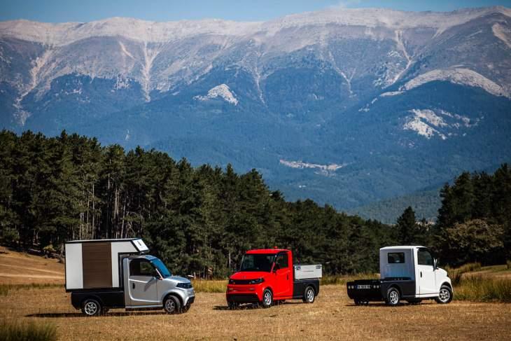 Der Treffpunkt Der Neuesten Technologie Und Des Neuesten Komfortes: Elektro Klein Nutzfahrzeuge