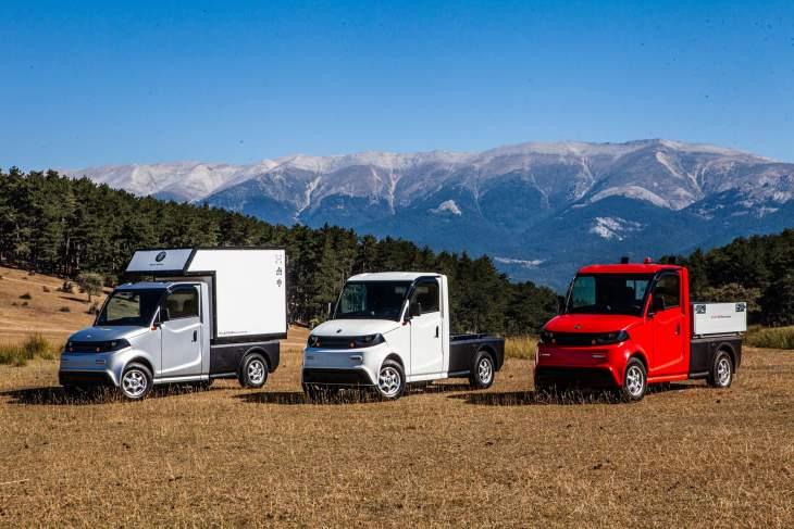 Ihr neuer Kollege Elektro-Kleinlastwagen PILOTCAR P-1000 Chassis